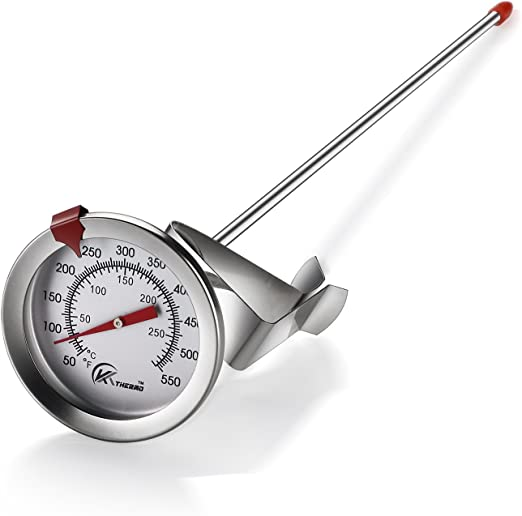 CDN Deep Fry Thermometer Long Stem Insta-Read Turkey Fry Cooking Kitchen Home