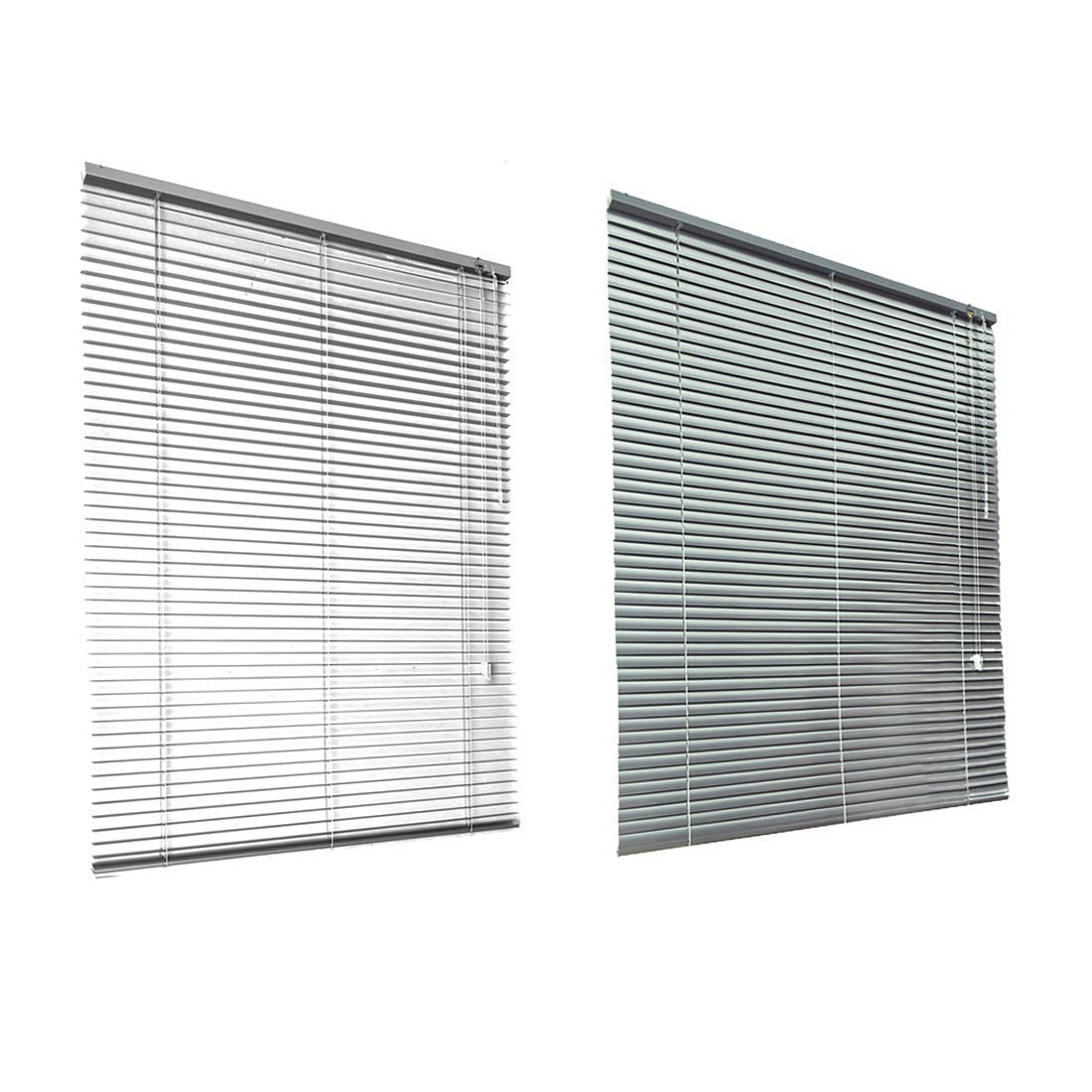 50x130cm Blanco HSYLYM Persianas venecianas de Aluminio