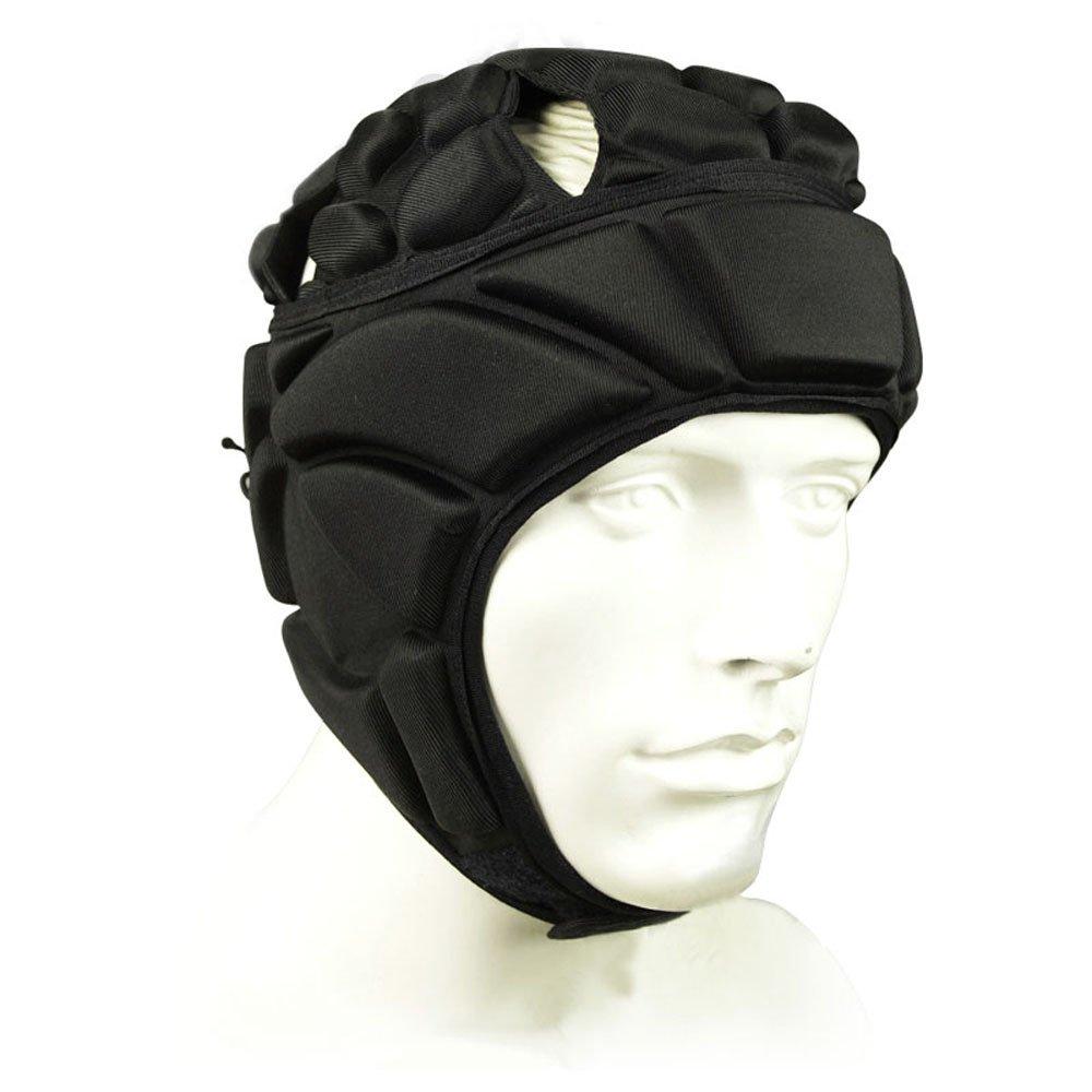 COOLOMG Men s Sport Goalkeeper Adjustable Soccer Goalie Helmet Head Protector Support