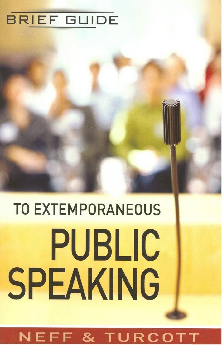 Read Online Brief Guide to Extemporaneous Public Speaking pdf epub