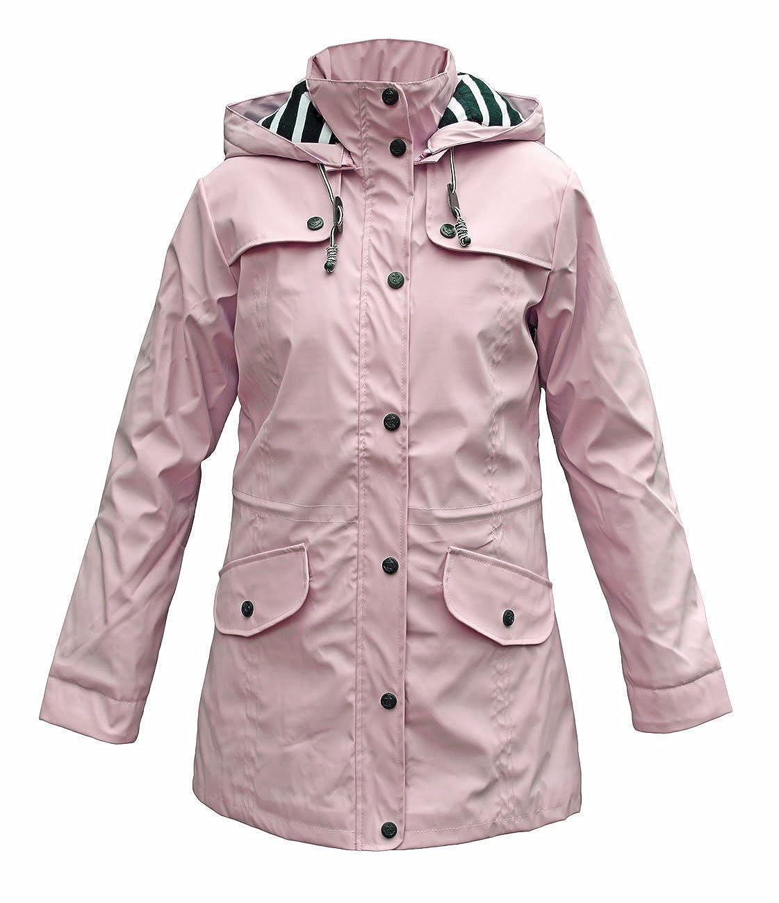 Batela Manteau de Pluie Femme avec Doublure