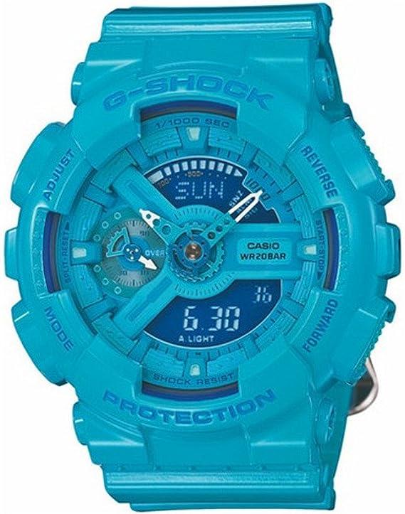 [カシオ]CASIO 腕時計 G-SHOCK Sシリーズ GMA-S110CC-2A ブルー ユニセックス [並行輸入品]