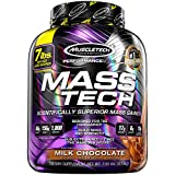 MuscleTech Mass Tech, Scientifically Superior Weight Gain Formula, Milk Chocolate, 7 lbs (3.18kg)