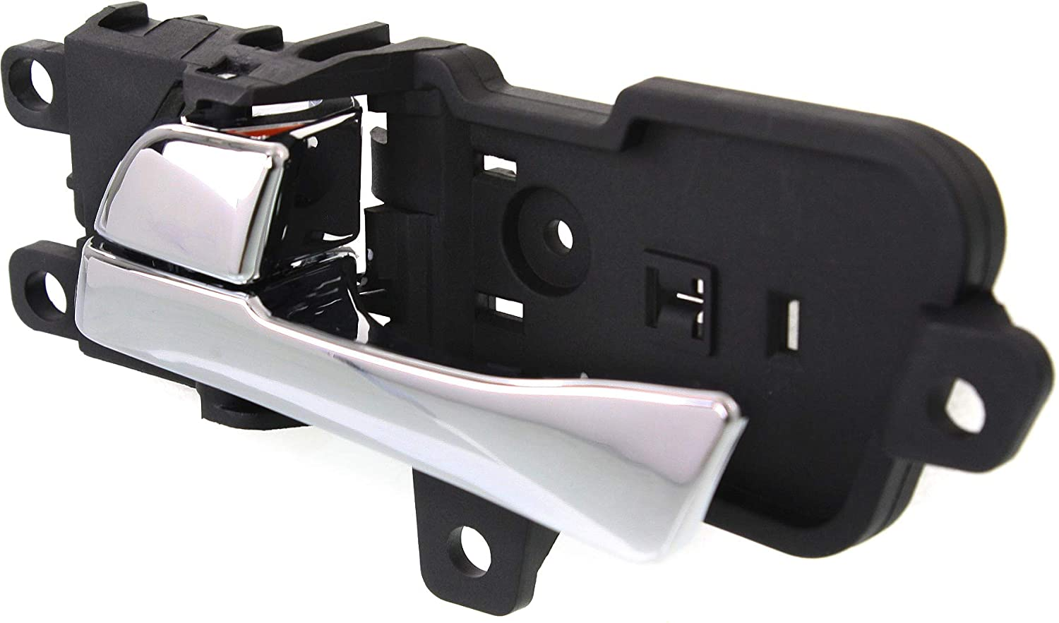 Interior Door Handle compatible with SONATA 11-14 Front LH Inside All Chrome Plastic