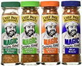 Chef Paul Prudhomme's Magic Seasoning Blends  Magic 4-Pack, Qty. Four  2-ounce bottles