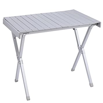 KingCamp Aluminium Roll Top Camping Table
