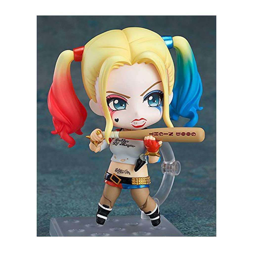 Circa 4 Pollici Yingjianjun Suicide Squad Harley Quinn Nendoroid Action Figure