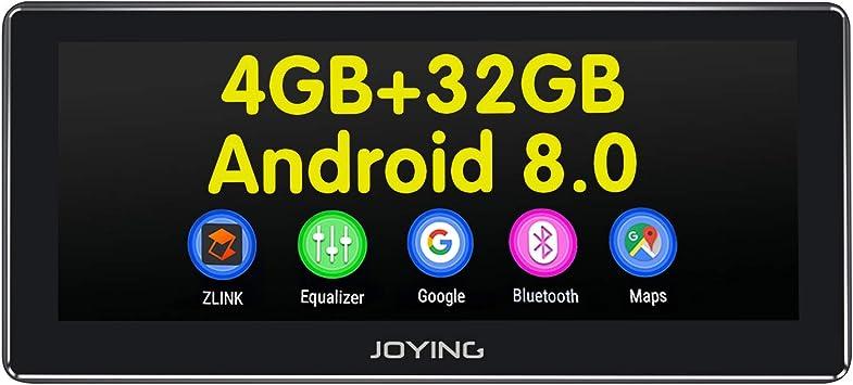 JOYING - Estéreo para Coche Android 8.0 4 GB + 32 GB 8,8 Pulgadas ...
