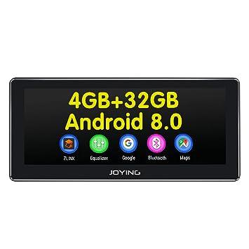JOYING Car Stereo Android 8 0 4GB + 32GB 8 8 inch Single Din GPS