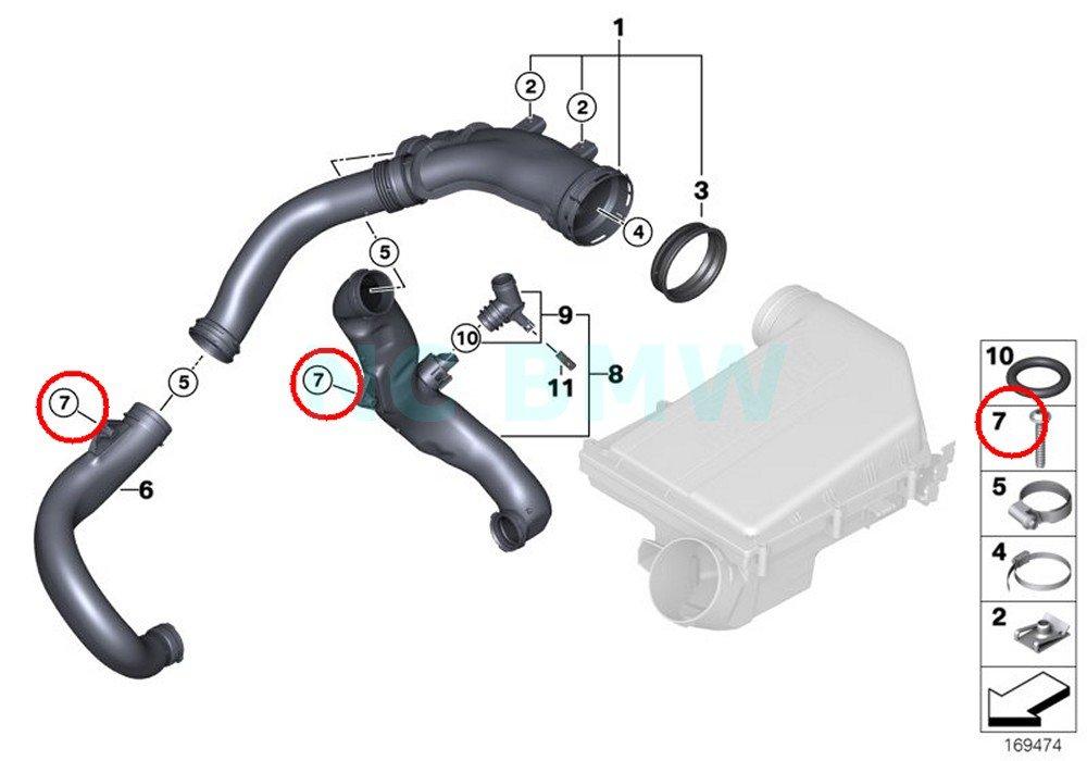BMW Genuine Screw For Plastic