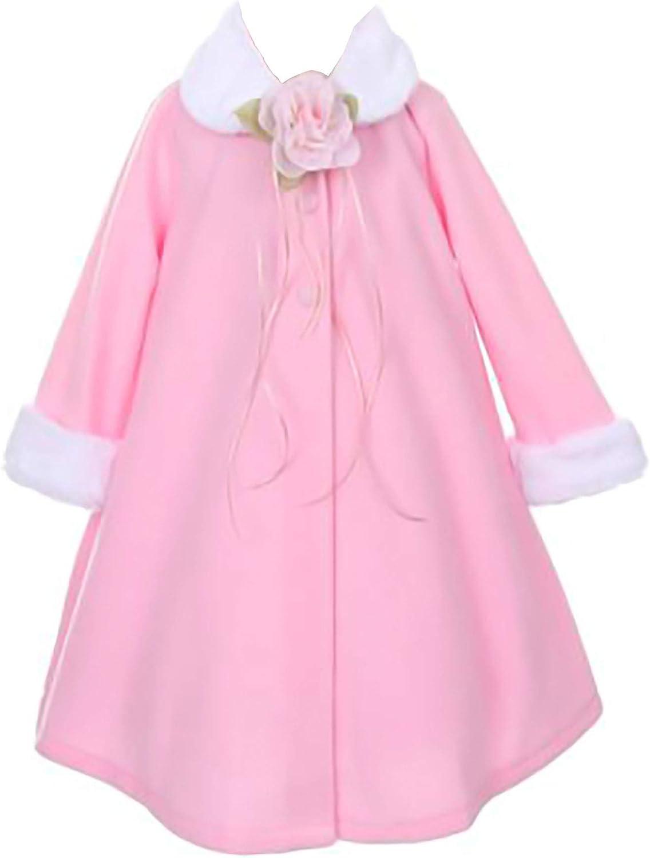 iGirldress Little Girls Cozy Fleece Cape Jacket Coat Size Infant to 12