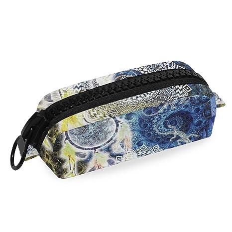 Amazon.com : Pencil Case Waxdye Hippy Zen Yoga Big Dreamer ...