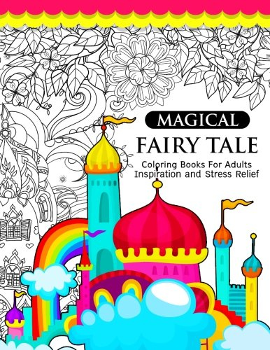 Amazon.com: Magical Fairy Tale: An Adult Fairy Coloring Book with ...