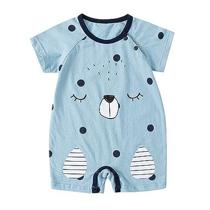 Mono Verano Bebe Niña Niño Unisex Body Bebe Manga Corta Pijamas Bebe ...