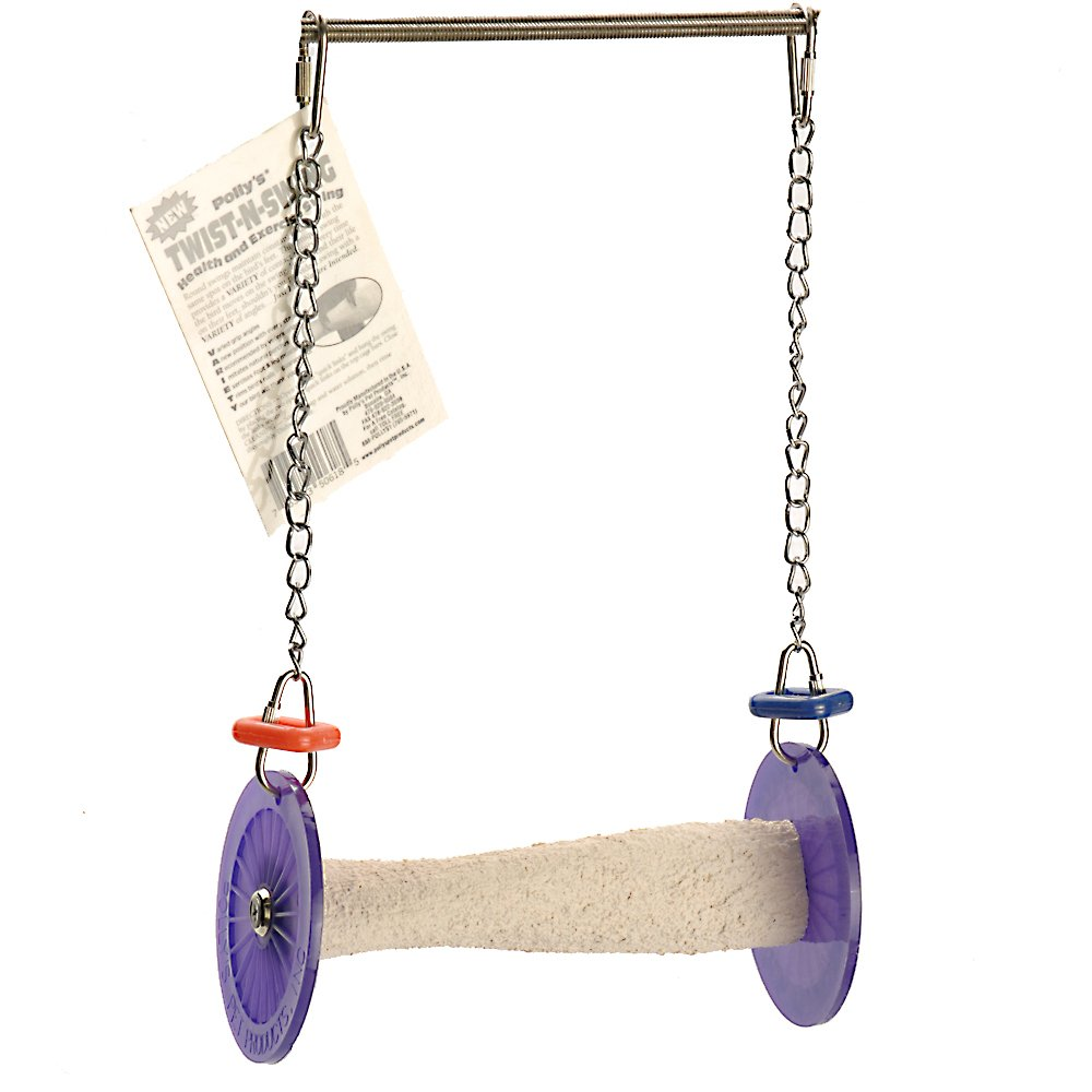 Polly's Twist-N-Swing for Pet Birds, Small by Polly's