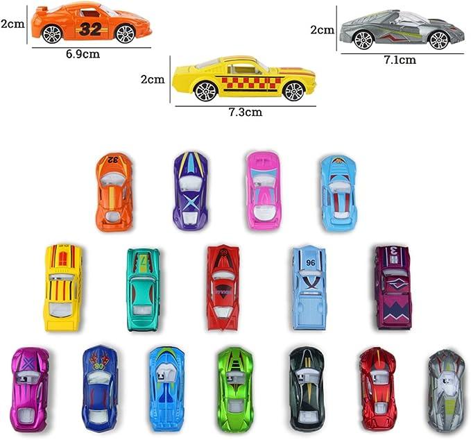 Modellautos Set Kinder Spielzeugauto 1:64 Fahrzeugmodell