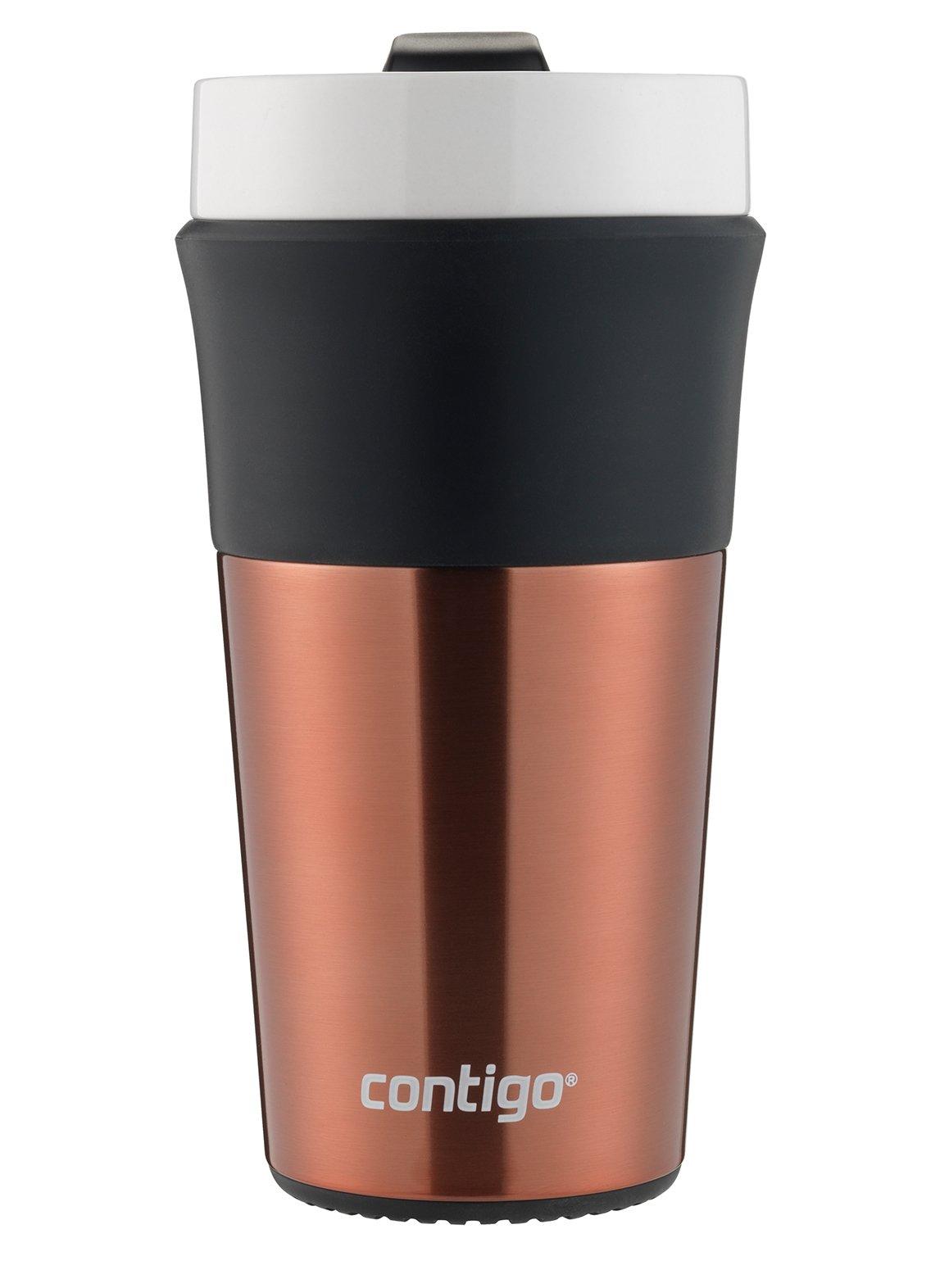 Contigo Knox Insulated Ceramic Travel Mug, 12oz, Copper
