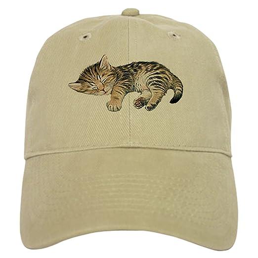 Amazon.com  CafePress - Cat Nap Cap - Baseball Cap with Adjustable ... d8190474491e