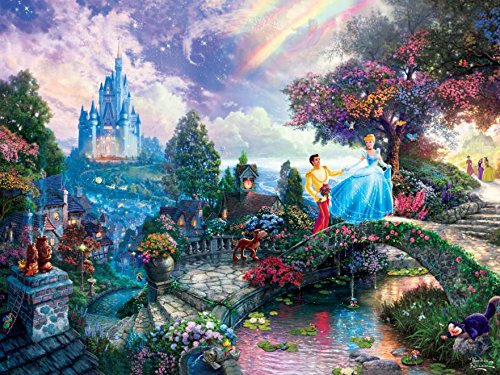 Thomas Kinkade The Disney Dreams Collection: Cinderella Wishes Upon a Dream Puzzle, 750 ()
