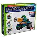Brain Crunch SM1702 Smart Machines Remote Control Toy Building Robot Kit - Green Edition