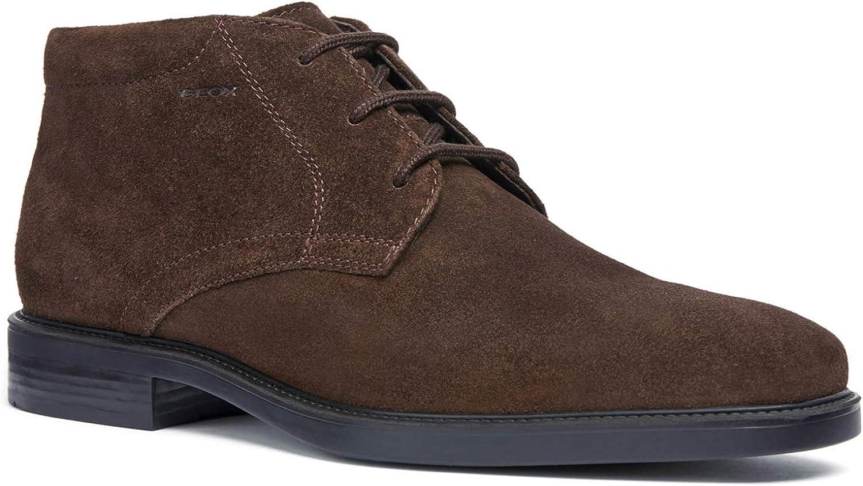 TALLA 44 EU. GEOX Brandolf Men's Lace-Up Shoes Brown