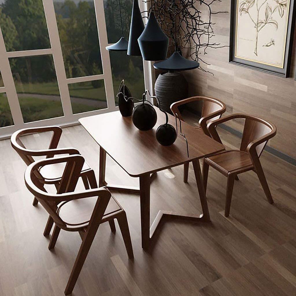YUXO frukostbarstolar barstol matstol massivt trä bakstol fritidsstol café matbord och stol kombination pall stol soffa barstol för kök matsal (färg: E) F