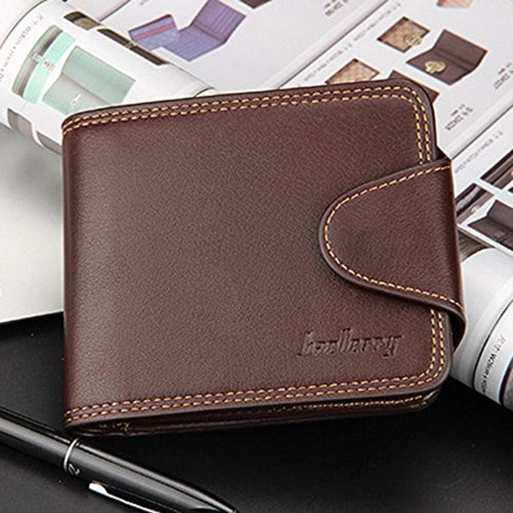 Halfbye Slim Minimalist Credit Card Holder Wallets for Men Leather Wallet Bifold Multi Card Purse Card Case