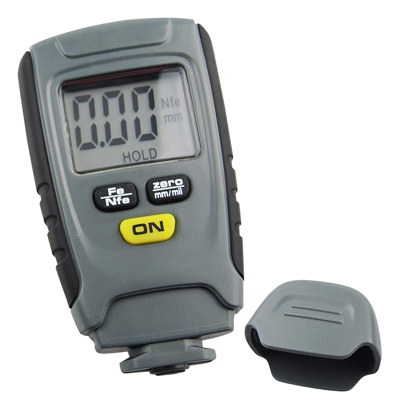 Portable 0~1.25mm Iron Aluminum Base Metal Car Automotive Paint Coating Thickness Tester Digital Gauge Meter Instrument TekcoPlus Ltd TMTK-48