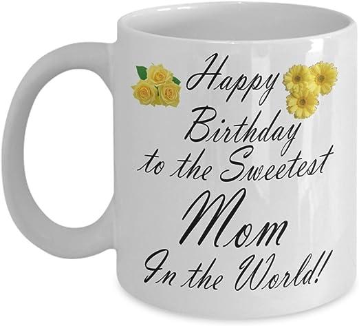 Amazon.com: Regalo para Mamá – Feliz cumpleaños a la ...