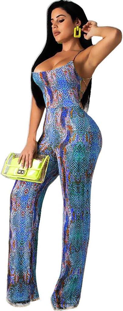 Club L Ladies Jumpsuit In Ikat Print