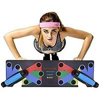 Cicony Fitness Tabla de Flexiones, 9 en 1, Soporte de flexión para Gimnasio en casa, Entrenamiento y Ejercicio