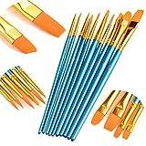 ATool Acrylic Paint Brushes Set, 5 Packs / 50 pcs