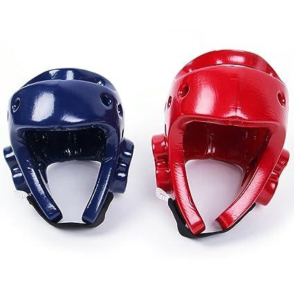 Pro Box Blue Head Guard