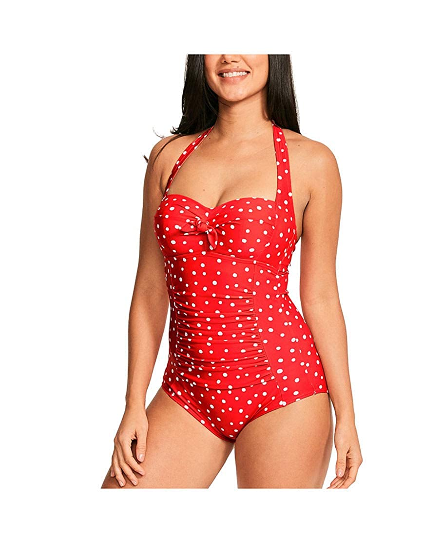 252bb81232 Figleaves Womens Sorrento Spot Wired One Piece Bathing Suit at Amazon  Women's Clothing store: