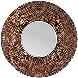 LuLu Decor, Amber Checkered Mosaic Wall Mirror (LP327)