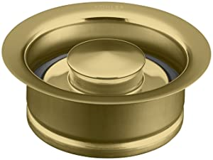 KOHLER K-11352-PB Disposal Flange, Vibrant Polished Brass
