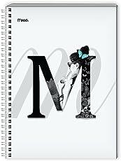 Mead P6108 Cuaderno Profesional, Formato Cuadro Chico, 100 Hojas, Paquete de 12 Piezas