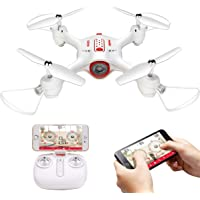 Syma X23W Mini Remote Drone with WiFi Live Stream APP Control,Headless Mode,360 Degree Flip Hover Drone,RC Control Quadcopte Easy for Beginner