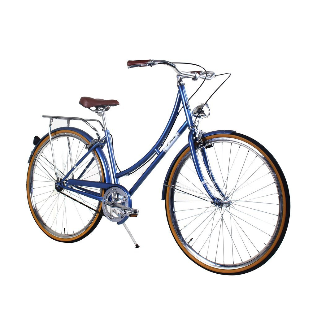 Zycle Fix 39 cmバイク固定ギアレディースシビックシリーズ自転車 – Mistyブルー B01MZAWA0V