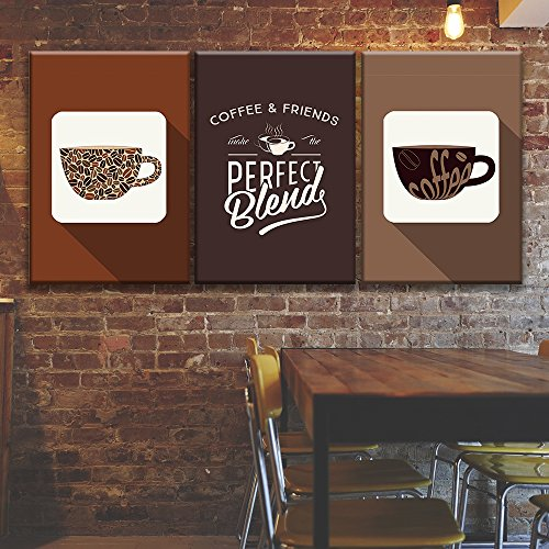 3 Panel Coffee Concept Art x 3 Panels