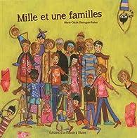 Mille et une familles par Marie-Cécile Distinguin-Rabot