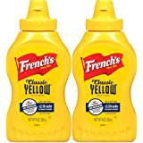 French's Classic Yellow Mustard 8 Oz Bottle 2 Pack