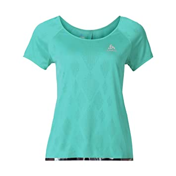 NEU T Shirt Short Sleeve Yotta Odlo Size XL Damen Laufshirts
