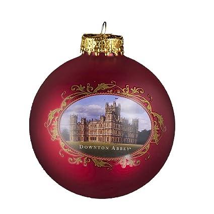 Downton Abbey Castle Glass Ball Ornament, 80mm - Amazon.com: Downton Abbey Castle Glass Ball Ornament, 80mm: Home
