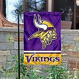 WinCraft Minnesota Vikings Double Sided Garden Flag