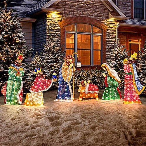 Top best 5 outdoor nativity for sale 2017 product for Outdoor christmas yard decorations sale