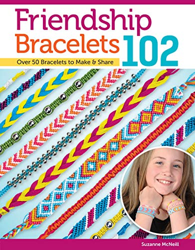 Friendship Bracelets 102: Over 50 Bracelets to Make & Share (Design Originals) Easy Instructions for Dozens of Designs and Variations; Braiding, Knotting, Stripes, Diamonds, Waves, and More]()