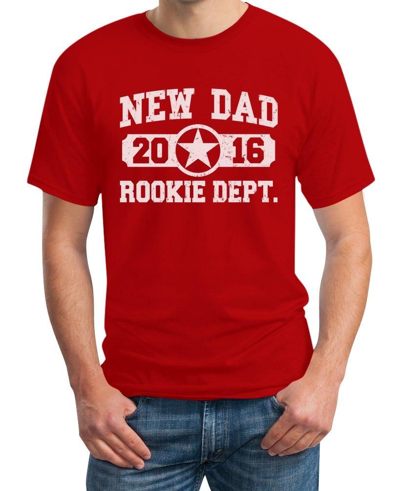 New Dad 2016 T-Shirt - Neuer Papa, Vater / Baby Umstandsmode: Amazon.de:  Bekleidung