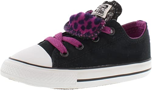 Converse Girls All Star Double Tongue Sneaker