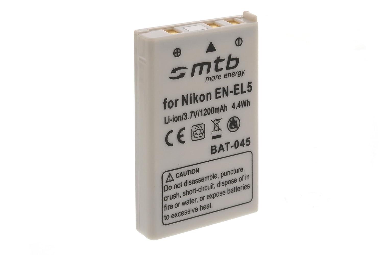 Batteria EN-EL5 per Nikon Coolpix P80, P90, P100, P500, P510, P5000 mtb more energy BAT-045aqf